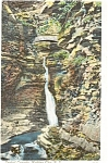 Watkins Glen Central Cascade Postcard