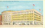 Scottish Rite Shrine Bldg, Pueblo,CO Postcard