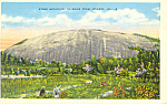 Stone Mountain Georgia Postcard p13752