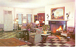 Coach and Four Inn Interior Coatesville PA Postcard p13759 1962