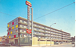 Downtowner Motor Inn, Little Rock, AR Postcard 1968