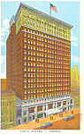 YMCA Hotel,Chicago,IL, Postcard