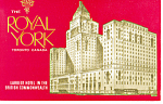 The Royal York Hotel, Toronto Ontario Postcard