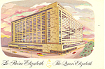 The Queen Elizabeth Hotel Montreal Quebec Canada Postcard p13782