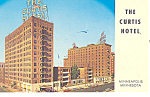 Curtis Hotel Minneapolis MN Postcard p13795 1965