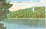 Black Hawk Monument,Illinois Postcard