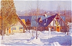 Click here to enlarge image and see more about item p1381: Wilmington  NY North Pole Workshops  Postcard p1381