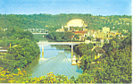 Click here to enlarge image and see more about item p13830: Frankfort,Kentucky Postcard 1966