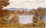 Lake Placid  NY Lake Placid Club Postcard p1385