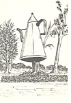 The Big Coffee Pot Winston Salem NC Postcard p13866
