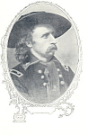 Click here to enlarge image and see more about item p13872: General George Armstrong Custer Postcard