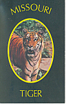 Missouri Tiger,University Of Missouri Postcard
