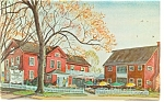 Wallingford, CT The Yankee Silversmith Postcard
