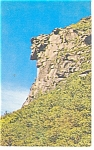 Old Man Of The Mountain, NH Postcard 1964