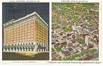 Savannah, GA, Hotel Savannah Postcard