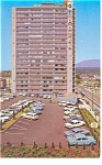 Vancouver, BC, Georgian Towers Hotel Postcard Cars 50s