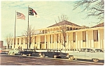 Raleigh,NC, Legislative Bldg Postcard Cars 50s