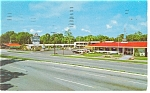 Howard Johnson s Motel Restaurant Postcard p14113 1961