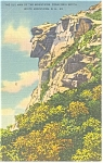 Old Man Of The Mountain, NH Postcard 1939