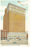 Chicago IL YMCA Hotel Postcard p14126