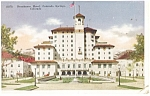 Colorado Springs CO Broadmoor Hotel Postcard p14131