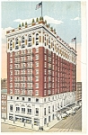 New Haven CT Hotel Taft and Annex Postcard p14145