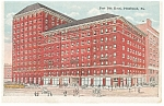 Pittsburgh  PA Fort Pitt Hotel Postcard p14153