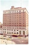 Harrisburg, PA, Penn-Harris Hotel, Postcard Cars 50s