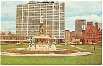 Click here to enlarge image and see more about item p14183: Hartford CT Hilton Hotel Postcard p14183 1973