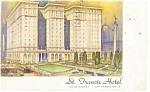 San Francisco, CA St Francis Hotel Postcard 1946