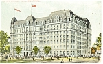 Montreal Quebec New Windsor Hotel Postcard p14197 1908