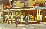 Click here to enlarge image and see more about item p1420: San Francisco CA Cable Car Powell St Postcard