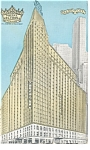 New York,NY, Hotel Victoria Postcard 1954