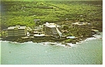 Click here to enlarge image and see more about item p14235: Kona  HI Kona Hilton Beach Tennis Resort Postcard p14235