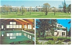 Conway NH Red Jacket Motor Inn Postcard p14245