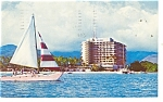Hawaiian Village Hotel Postcard 1968