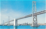 San Francisco Bay Bridge Postcard