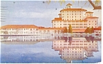 Colorado Springs, CO, Broadmoor Hotel Postcard 1950