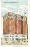 Pittsburgh PA William Penn Hotel Postcard p14320