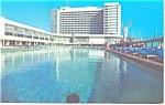 Miami Beach, FL Deauville Hotel Postcard 1969