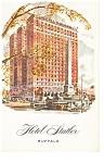 Buffalo, NY , Hotel Statler Postcard