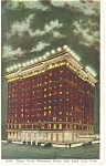 Salt Lake City  UT Newhouse Hotel Postcard p14336