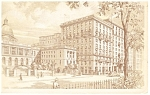Boston, MA, Hotel Bellevue Postcard