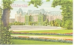 Click here to enlarge image and see more about item p14377: British Columbia C P R Empress Hotel Postcard p14377
