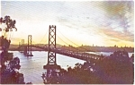 San Francisco Oakland Bay Bridge    Postcard