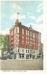 Council Bluffs, IA Grand Hotel  Postcard