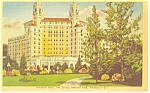 Click here to enlarge image and see more about item p14383: Hot Springs AR Arlington Hotel Postcard p14383