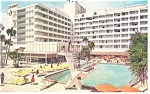 Hollywood By The Sea FL Diplomat Resorts Postcard p14424