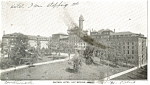 Hot Springs, AR, Eastman Hotel Postcard 1906