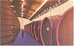 Saratoga CA Paul Masson Winery   Postcard p1443